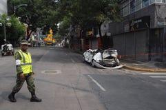 Terremoto del Messico fotografia stock libera da diritti
