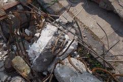 Terremoto del Messico fotografie stock libere da diritti