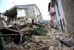 Terremoto dell'Italia Fotografia Stock Libera da Diritti