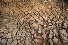 Terremoto della posta delle pietre per lastricati, Kathmandu Fotografia Stock
