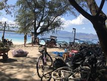 Terremoto di Lombok in Gili Fotografia Stock Libera da Diritti