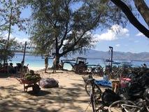 Terremoto di Lombok in Gili Trawangan Immagini Stock Libere da Diritti