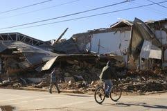 Terremoto di Richter 8.8 nel Cile Fotografie Stock