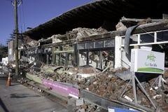 Terremoto el 4 de septiembre de 2010 de Christchurch Fotos de archivo libres de regalías