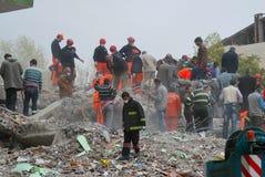 Terremoto em Turquia Foto de Stock Royalty Free