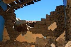 Terremoto en Chile stock photography