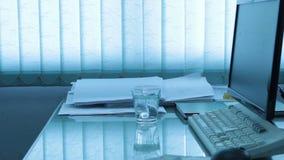 Terremoto en oficina