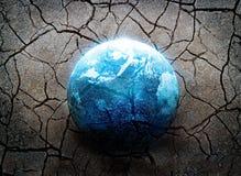 Terremoto, a maioria de desastre do mundo, conceito do ambiente Fotografia de Stock Royalty Free