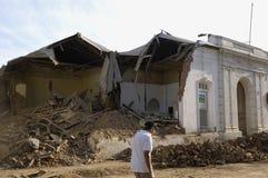 Terremoto no Chile, 2010 fevereiro 27 Foto de Stock Royalty Free