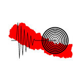 Terremoto Tremore de Nepal Foto de Stock