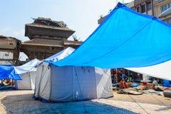 Terremotos de Nepal foto de stock royalty free