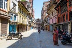 Terremotos de Nepal Fotografía de archivo libre de regalías
