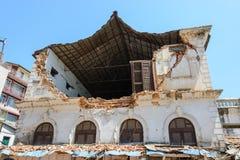 Terremotos de Nepal Imagem de Stock Royalty Free