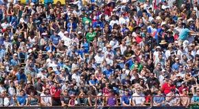 Terremotos del juego de fútbol contra galaxia del LA Fotos de archivo libres de regalías