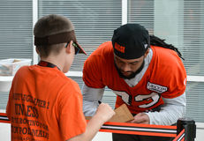 Terrence Magee 2017 NFL Cleveland Browns Royalty Free Stock Photos