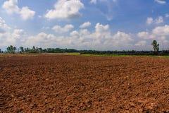 Terreno agricolo. Fotografia Stock Libera da Diritti