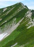 Terreno alpino delle alpi del Nord nel Giappone Fotografie Stock Libere da Diritti