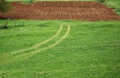Terreno arabile Immagine Stock