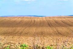 Terreno arabile per piantare Fotografia Stock Libera da Diritti