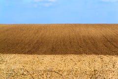 Terreno arabile per piantare Fotografie Stock Libere da Diritti
