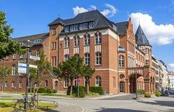 Terreno Charite Mitte de Charite Universitatsmedizin Berlim, germe Imagens de Stock