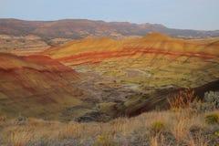 Terreno colorido de la mala tierra Fotografía de archivo