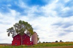 Terreno coltivabile americano Immagine Stock Libera da Diritti