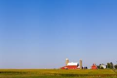 Terreno coltivabile americano Immagini Stock
