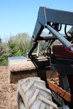 Terreno coltivabile di scavo Fotografie Stock Libere da Diritti