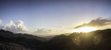 Terreno coltivabile Pano di Waikato fotografia stock libera da diritti