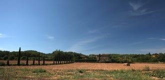 Terreno coltivabile spagnolo Fotografia Stock Libera da Diritti
