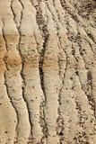 Terreno corroso Fotografie Stock
