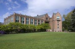 Terreno da faculdade Imagem de Stock