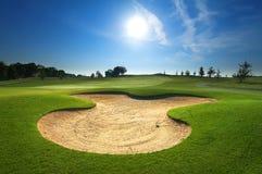 Terreno da golf Immagine Stock Libera da Diritti