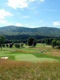 Terreno da golf del Vermont Fotografia Stock