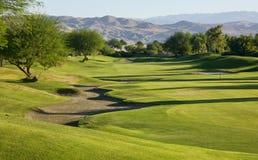 Terreno da golf dell'impronta del giocatore di Gary Fotografie Stock Libere da Diritti