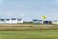 Terreno da golf di Falsterbo immagine stock