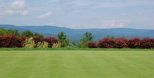 Terreno da golf in Maine Fotografie Stock