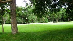 Terreno da golf verde Immagine Stock Libera da Diritti