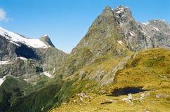 Terreno da montanha Imagens de Stock