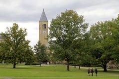 Terreno da Universidade de Cornell em Ithaca Fotos de Stock Royalty Free