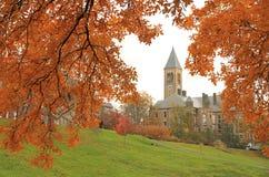 Terreno da Universidade de Cornell em Ithaca Fotografia de Stock Royalty Free