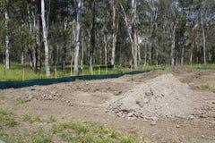 Terreno de construção Imagem de Stock