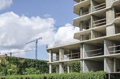 Terreno de construção da cidade Imagens de Stock