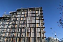 Terreno de construção de Aarhus Imagens de Stock Royalty Free