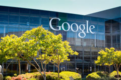 Terreno de Google imagens de stock
