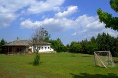 Terreno de juego rural Foto de archivo libre de regalías