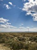 Terreno de Wyoming Foto de archivo