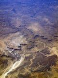 Terreno del desierto Imagen de archivo libre de regalías