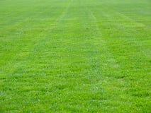 Terreno del fútbol Fotografía de archivo libre de regalías